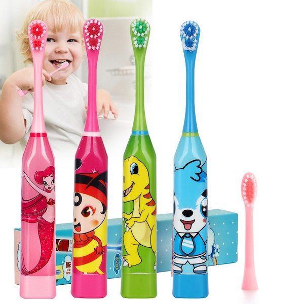 10 лучших электрических зубных щеток для детей